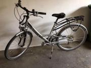 Fahrrad vollgefedert Alu