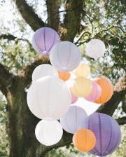 Festival Wedding Pastell Ibiza Lampions