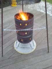 Feuerschale, Terrassenofen