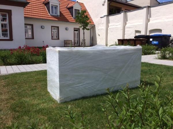 fiberglas pflanzk bel hochglanz weiss in speyer sonstiges f r den garten balkon terrasse. Black Bedroom Furniture Sets. Home Design Ideas