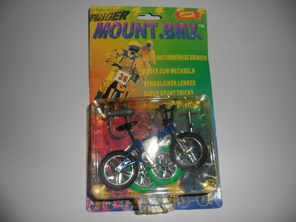 FINGER FAHRRAD -MOUNT BMX