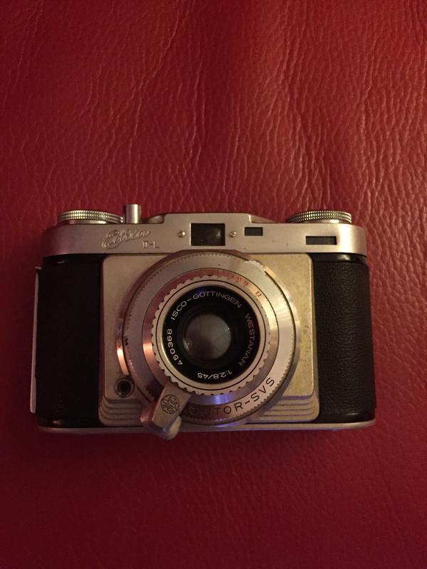 Fotoapparat Edixa II L mit