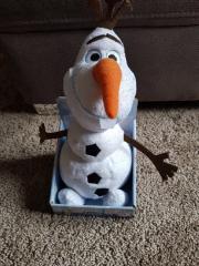 Frozen Olaf leuchtet