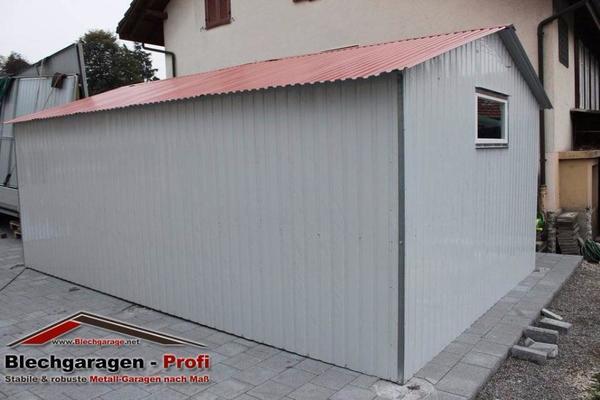 garage blechgarage metallgarage schuppen fertiggarage lager 3 x 6 m in stadthagen garagen. Black Bedroom Furniture Sets. Home Design Ideas