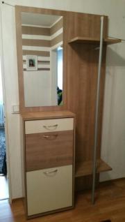 Garderobe von mondo 3 teilig in f rth garderobe flur for Kompaktgarderobe buche
