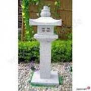 Gartenlampen aus Natursstein