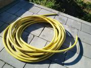 Gartenschlauch gelb knappe 20 m