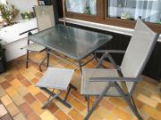 Gartentisch & 4 Stühle /