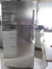 GE General Electric Edelstahl Amerikan Kühlschrank mit Eiswürfel ...