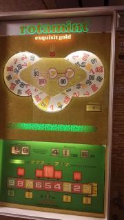 Geldspielautomat Rotamint exquisit