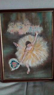 Gemälde: Tänzerin mit
