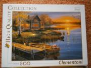 Geschenk Puzzle Clementoni Autumn at