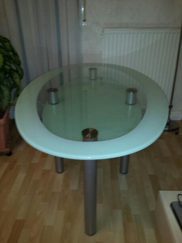 Glastisch oval neu und gebraucht kaufen bei - Glastisch oval ...