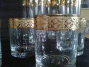 GOLD Gläser NEU