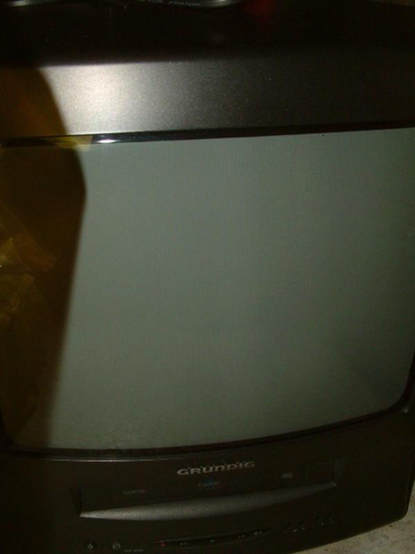 Grundig -Fernseher mit Video kompakt