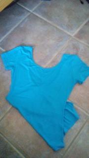 Gymnastikanzug Damen hellblau