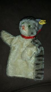 Handspielpuppe Steiff Katze