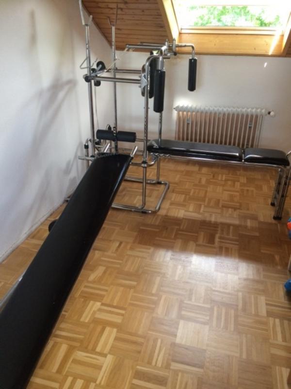 hantelbank stange gebraucht kaufen nur 2 st bis 65 g nstiger. Black Bedroom Furniture Sets. Home Design Ideas