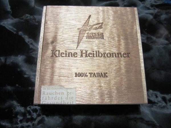 Heilbronner - Zigarrenkiste