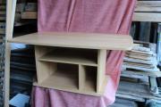 Hellbrauner Holz-Couchtisch Tisch fürs Sofa