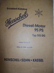 Henschel-Motorhandbuch Typ