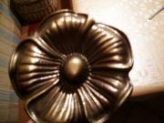 Hochwertige stilvolle brünierte Messing-Drapiervorrichtungen für