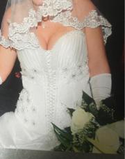Hochzeitskleid gr. 36-