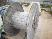 Holz-Kabel-Trommel