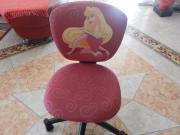 Hübscher Prinzessinnen Schreibtischstuhl Drehstuhl Kinderstuhl