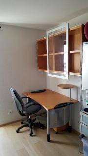 h lsta jugendzimmer oder b ro kombi schreibtisch rollcontainer h ngeregal in ostfildern. Black Bedroom Furniture Sets. Home Design Ideas