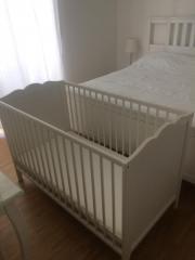 IKEA Babybett Hensvik +