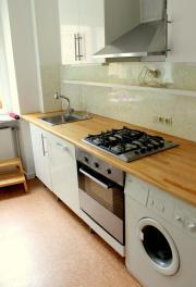Ikea Küche mit Kochfeld, Abzugshaube, Spülmaschine, Waschbecken ... | {Ikea küchenzeile fyndig 55}