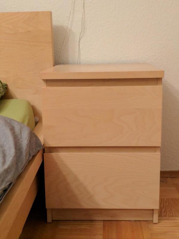 Ikea Malm Nachttisch Birke With Malm Nachttisch