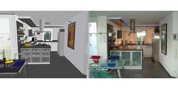 Individuelle küchenplanung  Individuelle Küchenplanung - mit Installations und Elektroplan in ...
