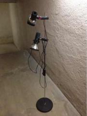 Infrarotstrahler Standlampe Chrom -