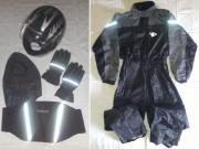 Integral-Helm, Regenanzug,