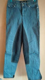 Jeans-Reithose mit
