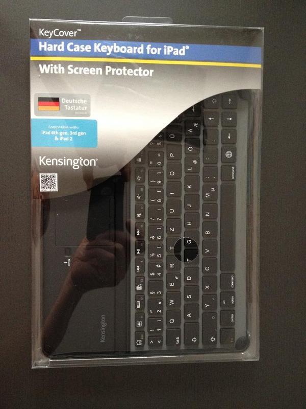 Kensington KeyCover für iPad 4th