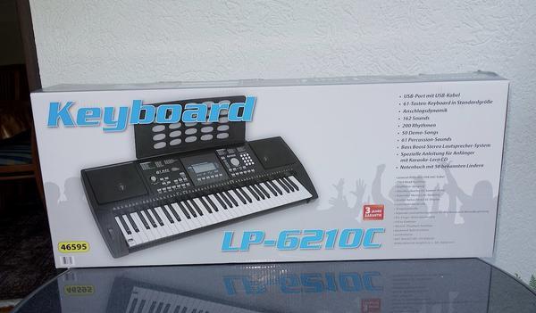 Keyboard-LP-6210c - Wiesloch - Keyboard-LP-6210cKeyboard ist NEU!!! (Originalverpackt, noch nicht geöffnet) wegen Fehlkauf zu verkaufen. Rechnung ist vorhanden.Privatverkauf, Beschreibung siehe Bilder. - Wiesloch