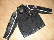 Kinder Jacke Cool Lederlook Motor