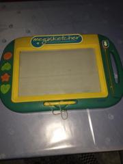 Kinder Magnettafel Kindermagnettafel m Stempeln