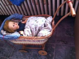 Puppen - Kinderpuppenwagen mit oder ohne Puppe