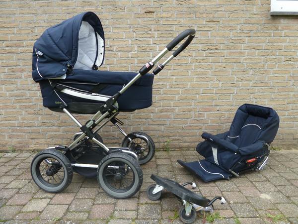 Zwillingskinderwagen emmaljunga  Kinderwagen Emmaljunga Duo Etsch Combi/ Gestell Sport in ...