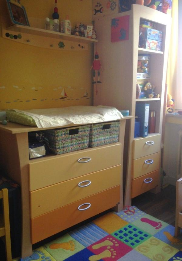 Kinderzimmer Geuther Sunset - Bett, Wickelkommode, Kinderschrank ... | {Kinderzimmer münchen 53}