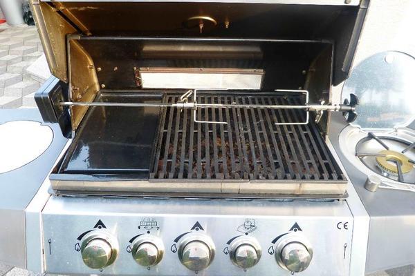 kingstone gasgrill gasbrenner grillwagen lavasteine grill in mannheim sonstiges f r den garten. Black Bedroom Furniture Sets. Home Design Ideas