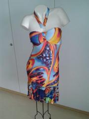 Kleid Elegant Figurbetont schöner Rückenausschnitt