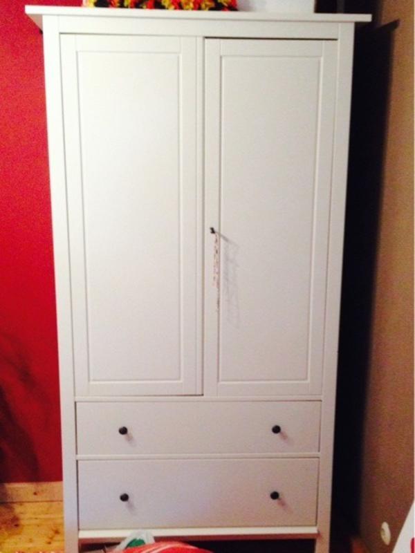 Kleiderschrank von Hemnes weiß in Braunfels - IKEA-Möbel kaufen und verkaufen über private ...