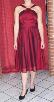knielanges Kleid, Ballkleid,
