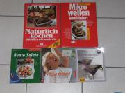 Kochbücher, Bastelbücher, Krimis
