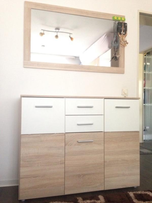 spiegel kommode weiss gebraucht kaufen nur 2 st bis 75. Black Bedroom Furniture Sets. Home Design Ideas